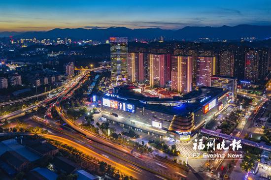 福州东二环商圈将成全时段商圈 打造夜色经济新地标