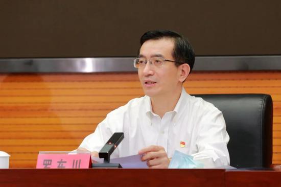 罗东川任中共福建省委委员、常委、政法委书记