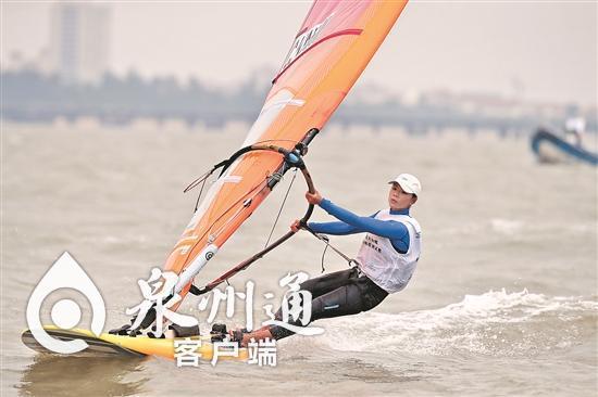 旱鸭子到全国双冠!永春22岁小将扬威全国帆板锦标赛