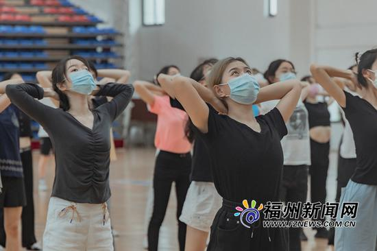 第三届数字中国建设峰会志愿者形象礼仪集训启动