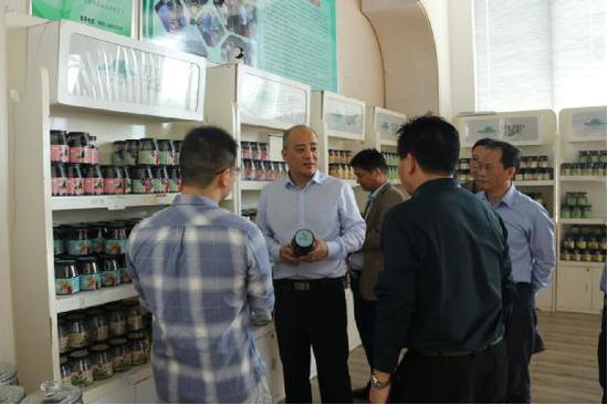 福州市市场监管局薛文副局长一行赴永泰县督查综合工作