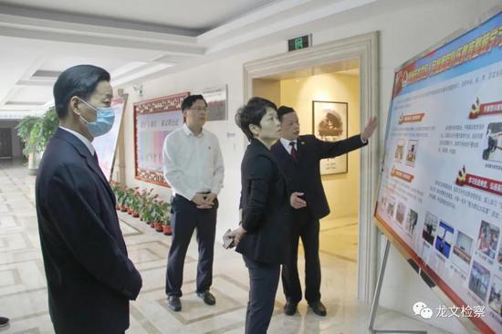 漳州龙文区委书记朱真到龙文区检察院调研督导队伍教育整顿