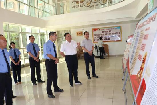 队伍教育整顿 | 漳州平和县委书记到平和县检察院调研督导