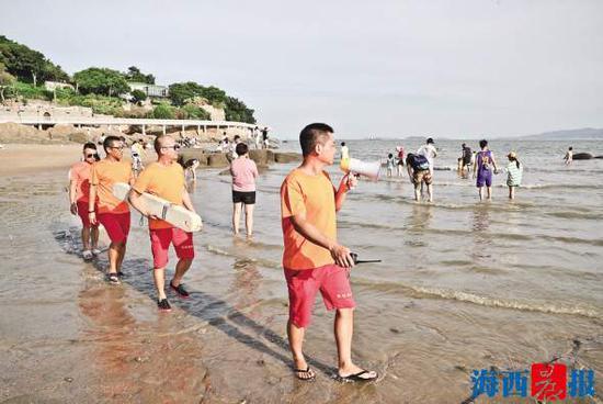 厦门防溺水地图发布 夏天游泳消暑需远离这些海域