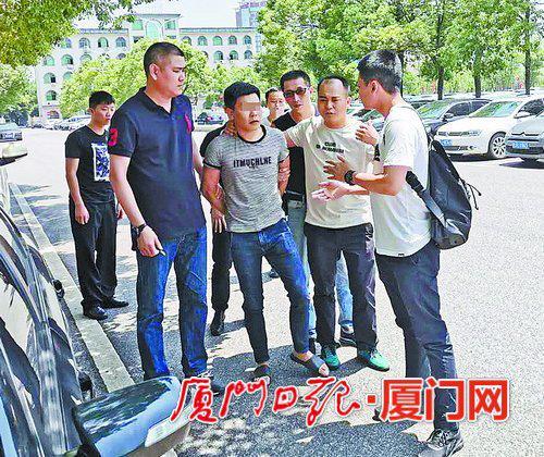 民警奔赴江西省萍乡市,抓获嫌疑人欧阳某水。
