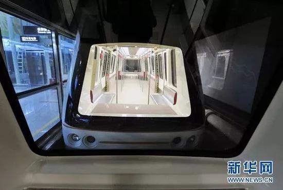 广州无人驾驶地铁线。来源:新华网