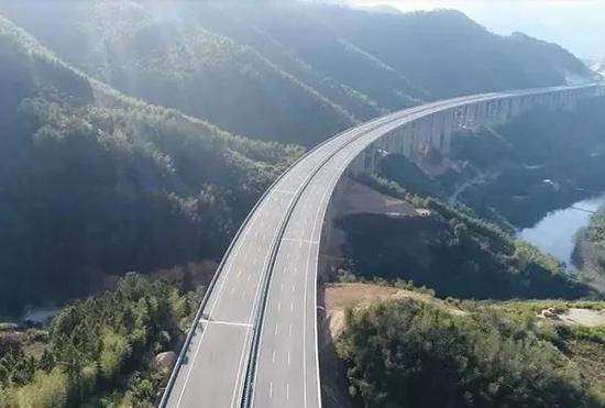 好消息!福建省内多条高速公路建成通车