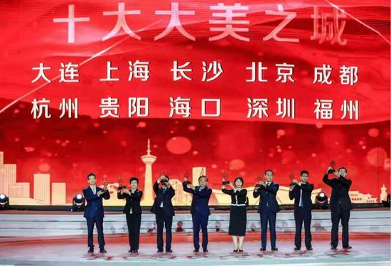 """福州获评中国十大""""大美之城""""公园绿地满意度最高"""