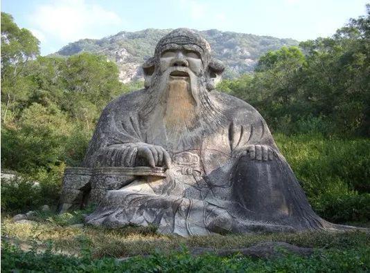 泉州清源山老君石像。福建文旅厅供图