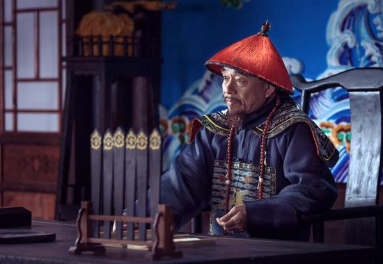 《一代名相陈廷敬》剧照。