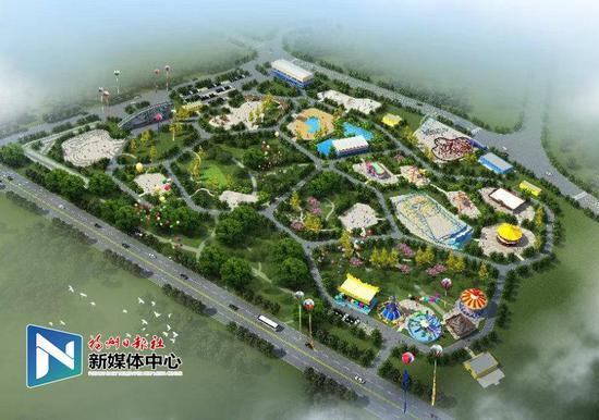 30米高摩天轮将亮相福州儿童公园 打造成地标景观