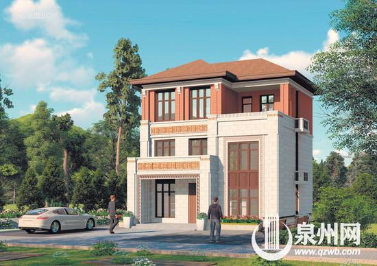 农村住宅设计方案(宅基地90平方米)