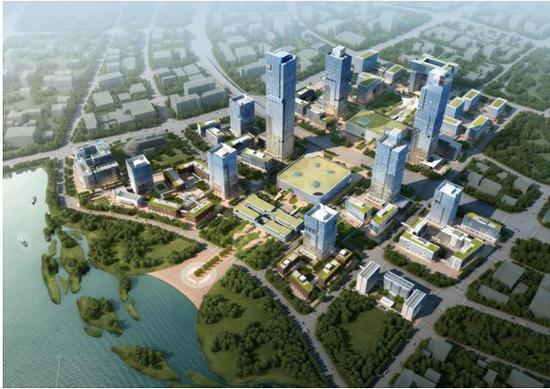 厦门现代服务业基地(丙洲片区)统建区效果图