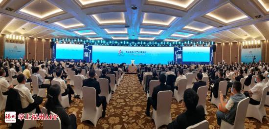 第三届数字中国建设峰会开幕!钟南山发来视频,马化腾发来微信!还有这些大咖在福州!