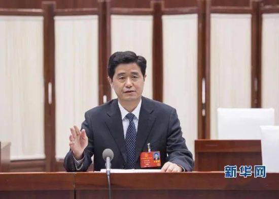 余红胜在十三届全国人大三次会议上发言 图源:新华网