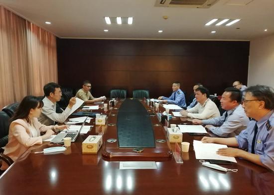 市场监管总局执法稽查局王松林二巡赴榕调研