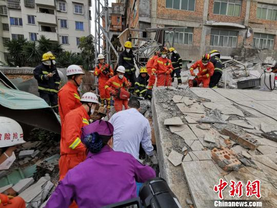 福州消防供图 龙敏 摄