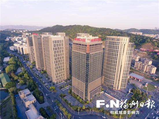 """福州软件园建设高质量发展载体 打造""""中国数谷"""""""