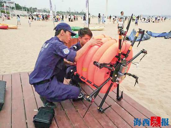 厦门曙光救援队将启用无人机。