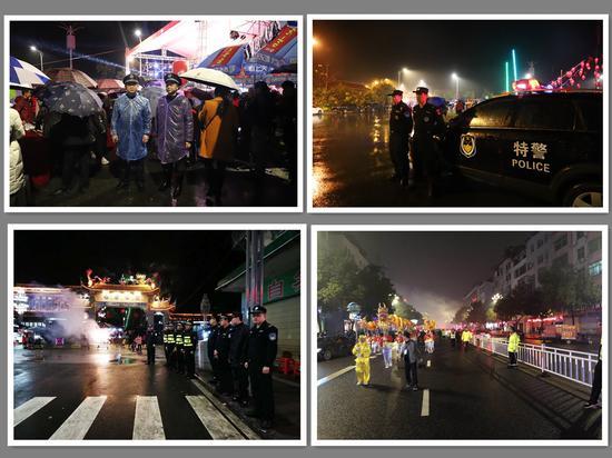 全市公安机关圆满完成春节期间大型群众活动安保工作