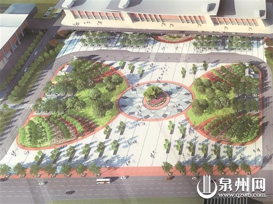 景观广场效果图