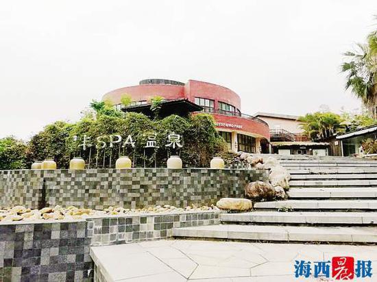 翠丰温泉酒店早已不再经营,处于空置状态。拍卖平台供图