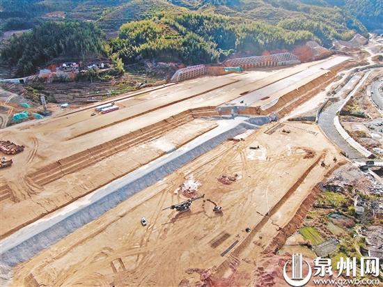 兴泉铁路泉州段59个工点复工建设 全线复工率逾四成