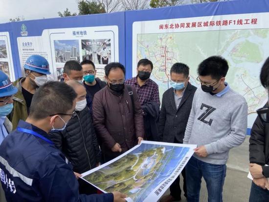 福州滨海快线传来最新进展 市区内首个主体工程动建