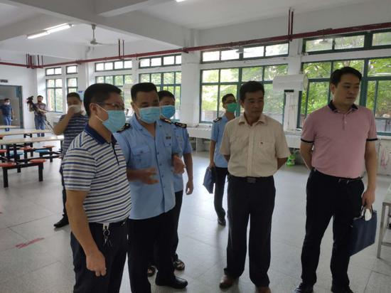 三明市市场监管局全力保障中高考考生饮食安全