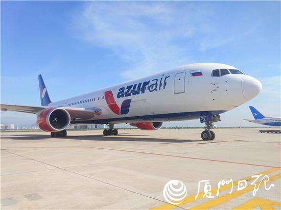 厦门至莫斯科洲际航线正式开通 每周五执行一班