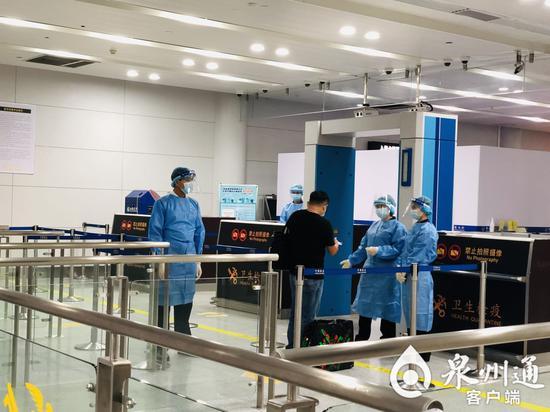 晋江国际机场恢复首条境外客运定期航线