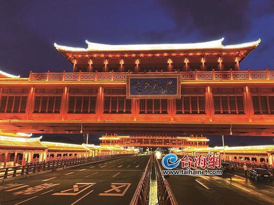 漳州市金峰大桥:世界跨径最大最长廊桥交工验收