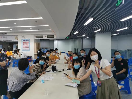 △361°员工接种新冠疫苗