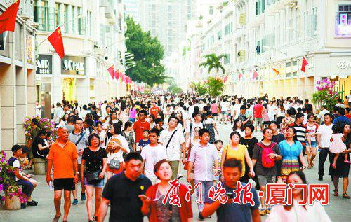 ■中山路要打造成高品位步行街。