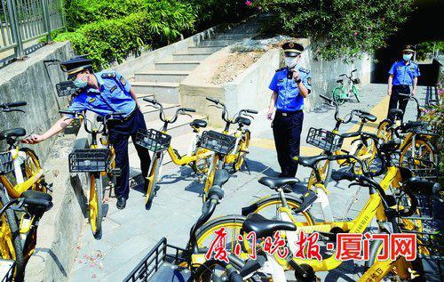 厦门13万辆共享单车8月底将全部换锁