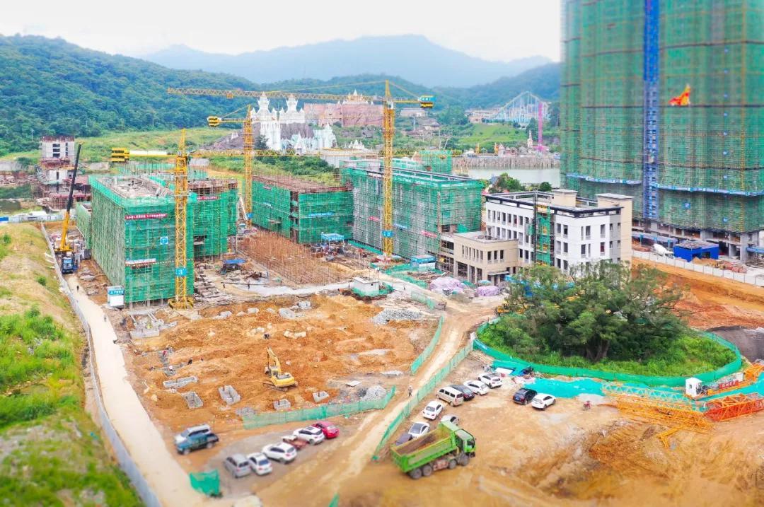 西安小学分校东园校区建设现场|陈律全 摄