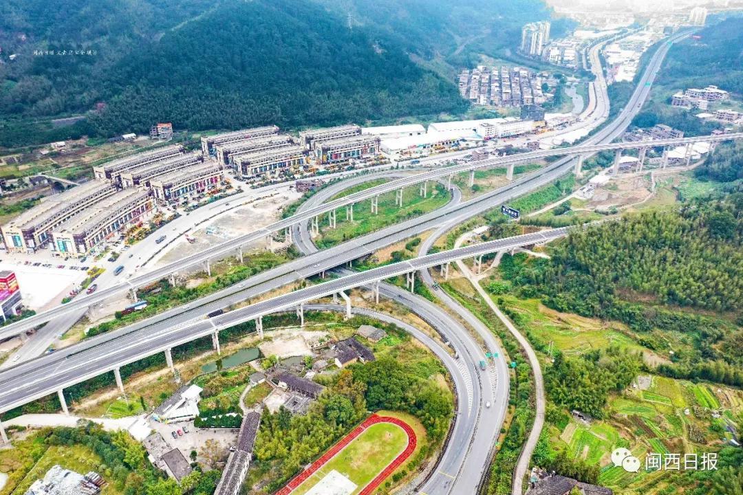 厦蓉高速公路改扩建工程(龙岩段)龙门龙潭特大桥|陈律全 摄