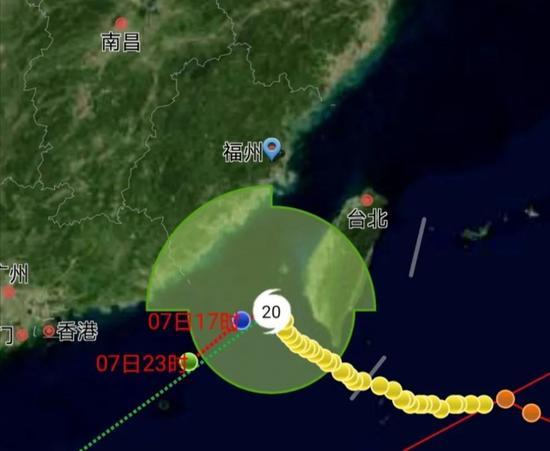 """台风""""艾莎尼""""擦过福州气温骤降5℃ 福建沿海有大风"""