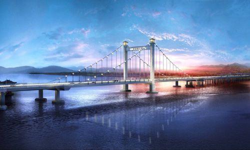 新洪塘大桥效果图