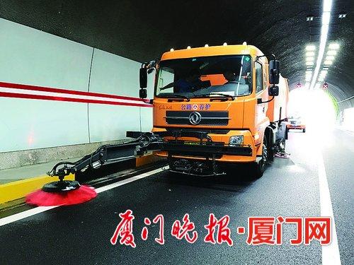 厦门市公路局养护作业车辆综合管理平台月底投用