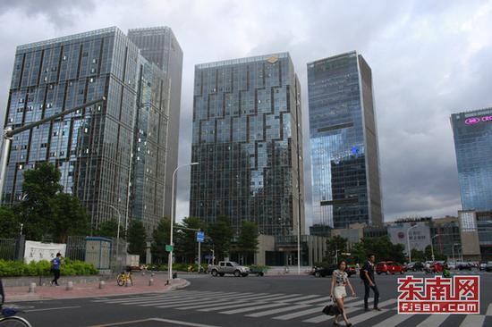 福州:楼宇经济逆风而上 引领中心城区发展(图)