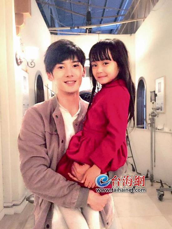 ▲小童星林若惜(右)