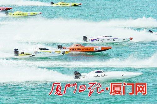 """2017""""一带一路""""迈飞杯UIM世界XCAT摩托艇锦标赛中国赛区厦门赛本周五开赛,将上演刺激的体育赛事。"""