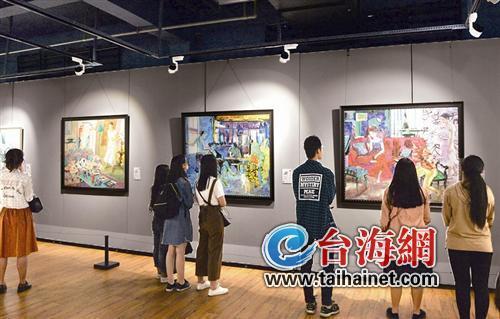 厦门网讯 据海峡导报报道(记者 崔晓旭/文 吴晓平/图)他们家的画,会唱歌!听,那画多美!