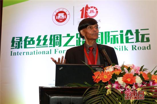 Mohan Munasinghe教授演讲。