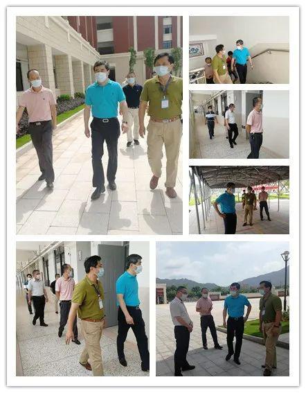 南靖县领导深入县城部分学校 指导复课复学工作
