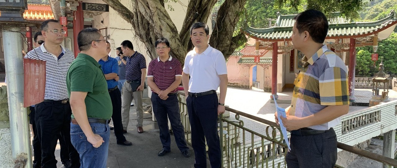 南靖县领导深入船场镇调研生态环保及乡村振兴工作