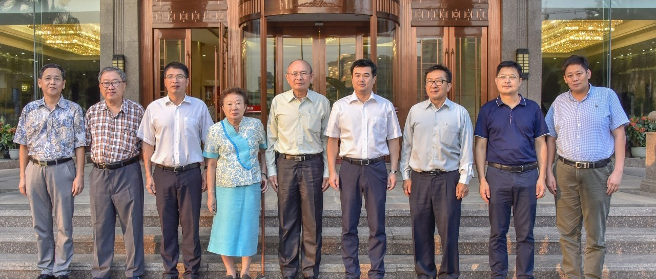 中泰一家亲 清迈大学华裔校长到南靖县考察