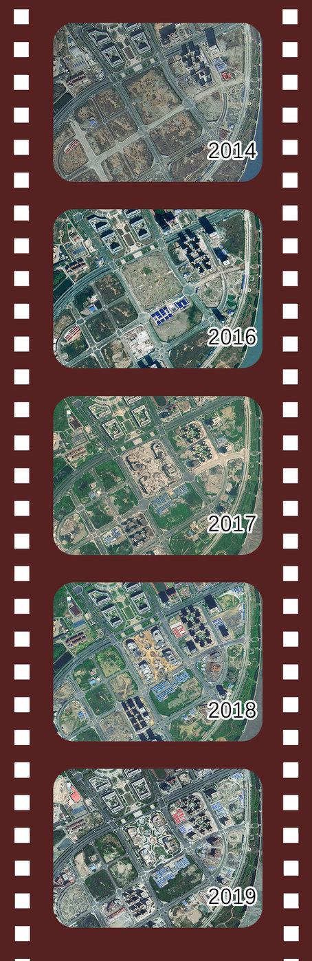 从卫星上看福建这五年!日新月异不负光阴!
