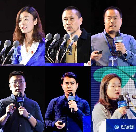 出席论坛的嘉宾分享媒体融合的实践心得与经验。(李罡 摄)